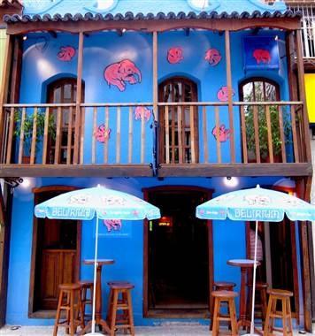 Delirium Cafe at Ipanema Beach in Rio de Janeiro