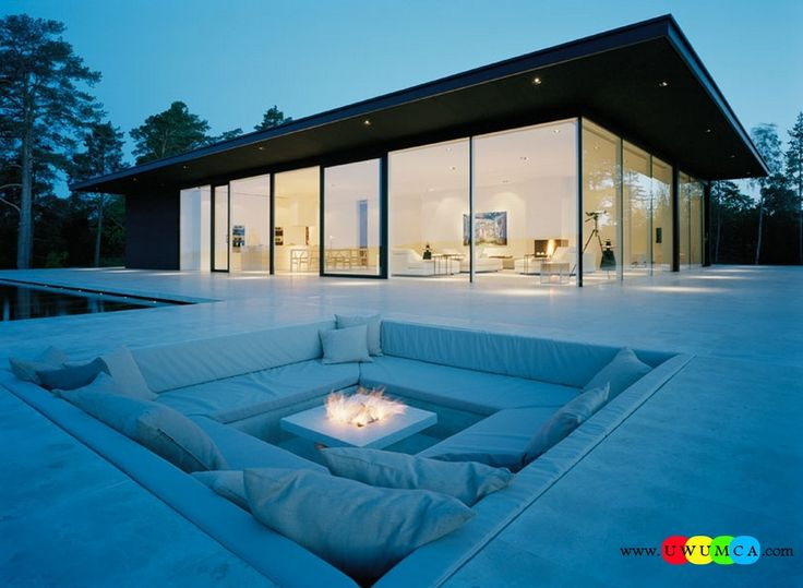 Outdoor / Gardening:Create Outdoor Lounge With Sunken Seating Area Build Conversation Pits Sunken Sitting Areas In Pool Garden Outside Outdoor Conversation Fire Pit Elevate The Style Quotient Of Your Outdoor Lounge With Sunken Seating Area