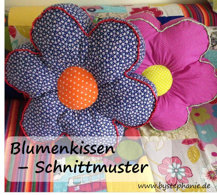 Blumenkissen DIY Anleitung