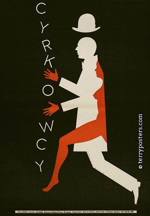 Polish film posters - Cyrkowcy