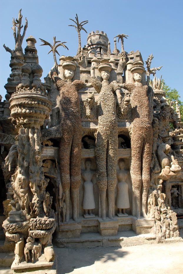 Self made Palais idéal du facteur Cheval Drôme Hauterives http://www.sitestouristiques-drome.com/ France