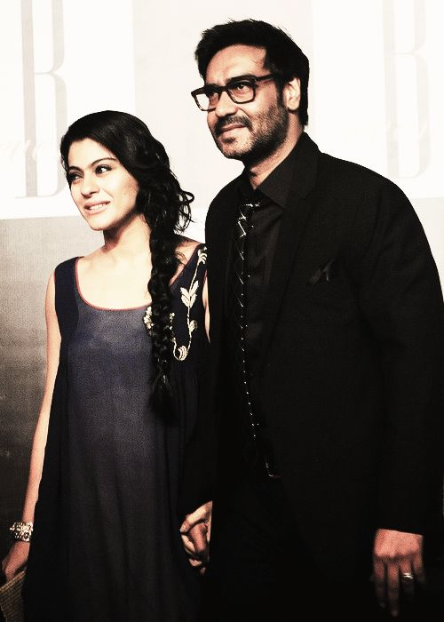 Kajol and Ajay Devgan, my favorite couple in the world