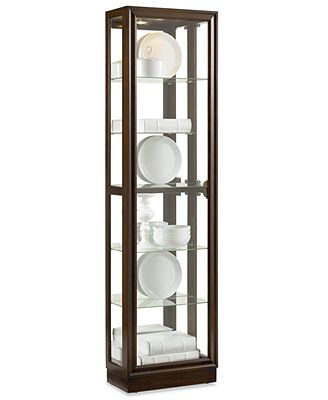 Austin Picture Frame Curio Cabinet FurnitureDining Room