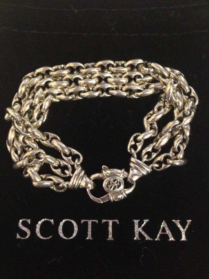 98 best Accessories images on Pinterest Scott kay Man jewelry