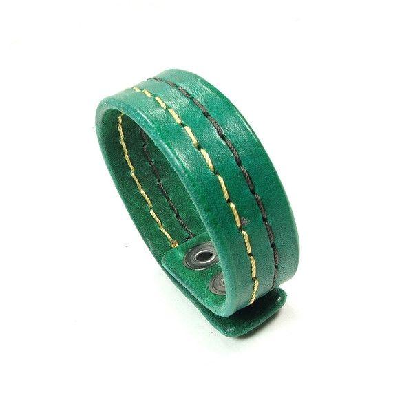 Manjar - bransoletka skórzana dla Mężczyzn - -Jagna- - Biżuteria męska