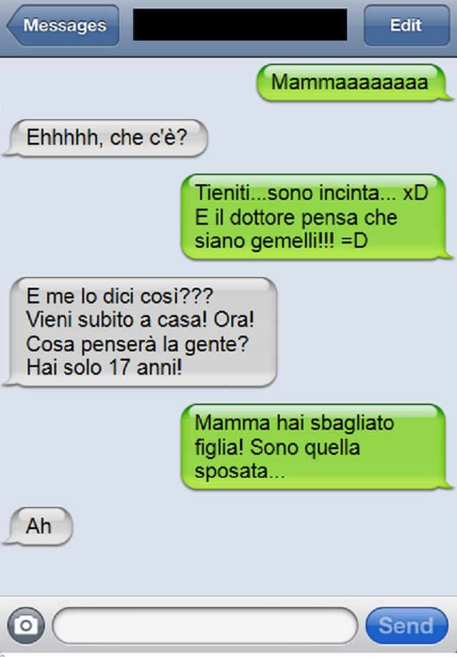 I 10 sms più divertenti che solo le mamme potevano scrivere|Universo Mamma