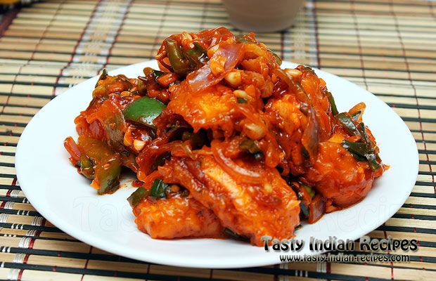 Crispy Paneer in Schezwan Sauce is simply stir fried paneer cooked in home made schezwan sauce and other spices. This recipe is the best option for vegetar
