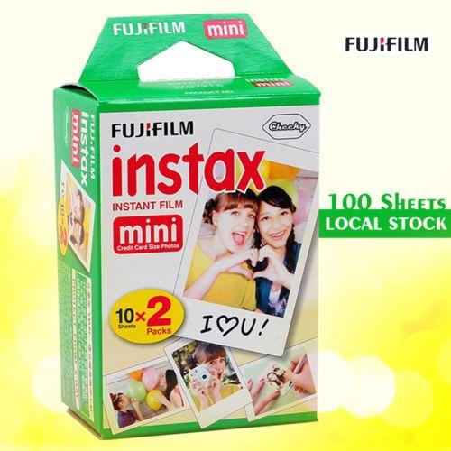 Fujifilm-Instax-Mini-Film-100-Fuji-instant-photos-100-Sheets