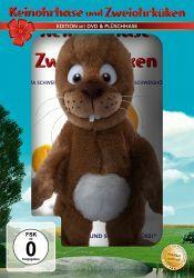Keinohrhase und Zweiohrküken, 1 DVD + Plüschhase (Oster-Plüsch-Edition)