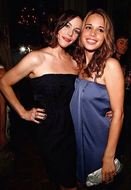 Liv Tyler and her sister Chelsea Tallarico - The Blue Soiree Party hosted by Lanvin Acme in Paris, June 30, 2008