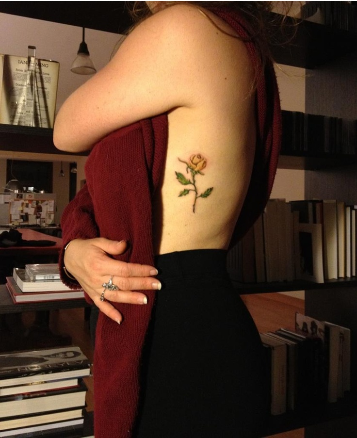 original tattoo design by @Paige Barcus, aka my mother: yellow rose of texas