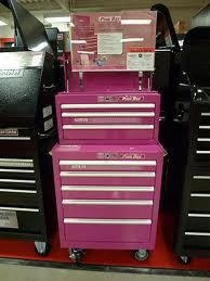 Every country girl needs a pink tool box (: