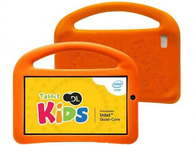 Fancy Tablet DL Play Kids GB ud Wi Fi Android Proc Intel