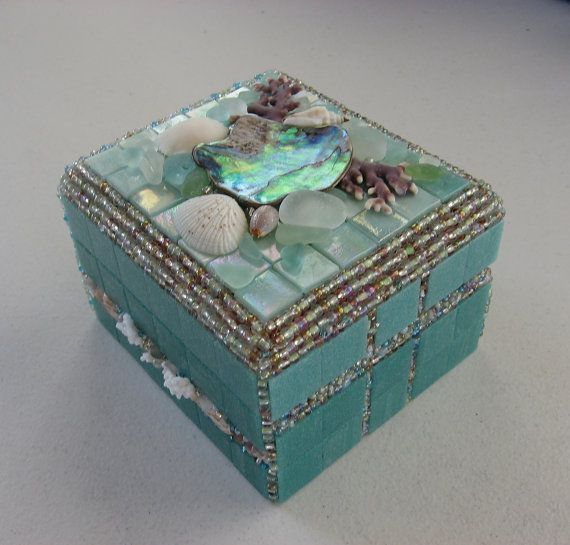 152 best jewelry shell boxes images on pinterest