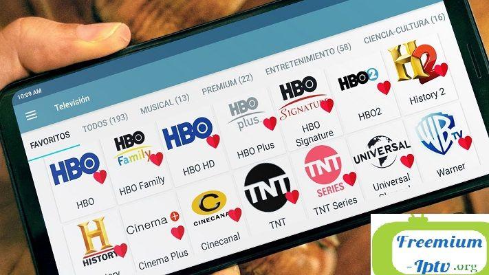 Lots Tv Aplicación Para Ver Canales Iptv En Vivo Hbo Youtube Tv
