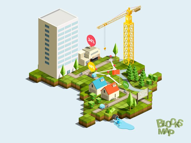 Dribbble - Blocks map creator by Vladislav Karpov
