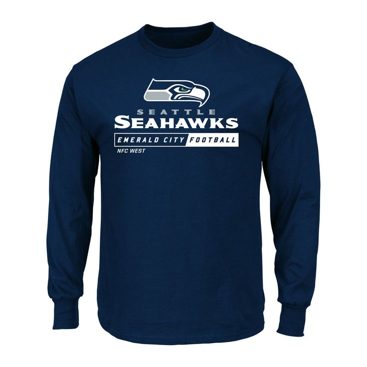 T-Shirt Seattle Seahawks Team Color Xxl, Men's, Multicolored