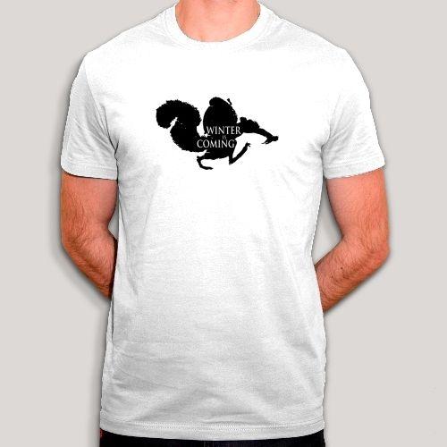 T-shirt scrat, l'age de glace, hiver, ecureuil