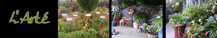 Judilers - Mosaic Cafe, Garden, Art Gallery, Acacia Bay, Taupo, NZ. Resident Clay Artist. Unique ceramic art.