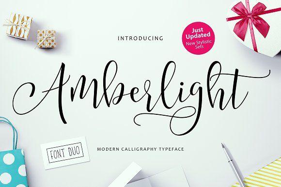 Amberlight by Get Studio on @creativemarket