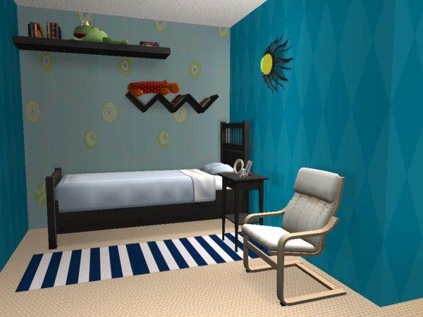 Les 91 meilleures images propos de chambre d 39 enfant sur for Deco chambre jeune homme