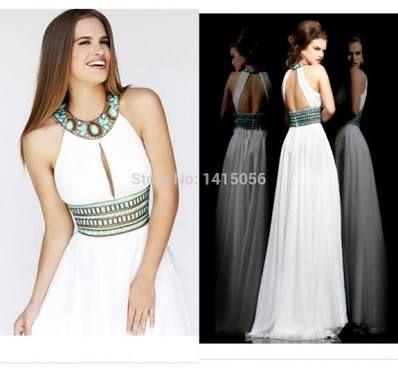 Resultado de imagen para vestidos de espalda descubierta largos