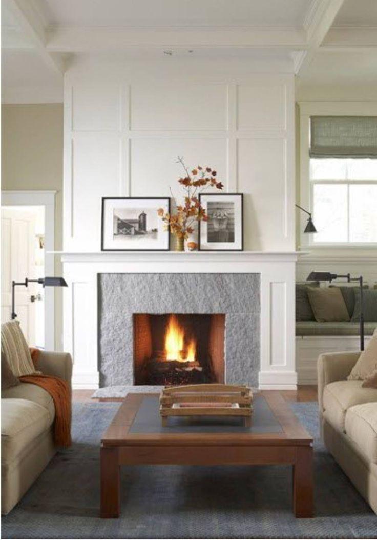 55 best Board & Batten - Fireplace images on Pinterest ...