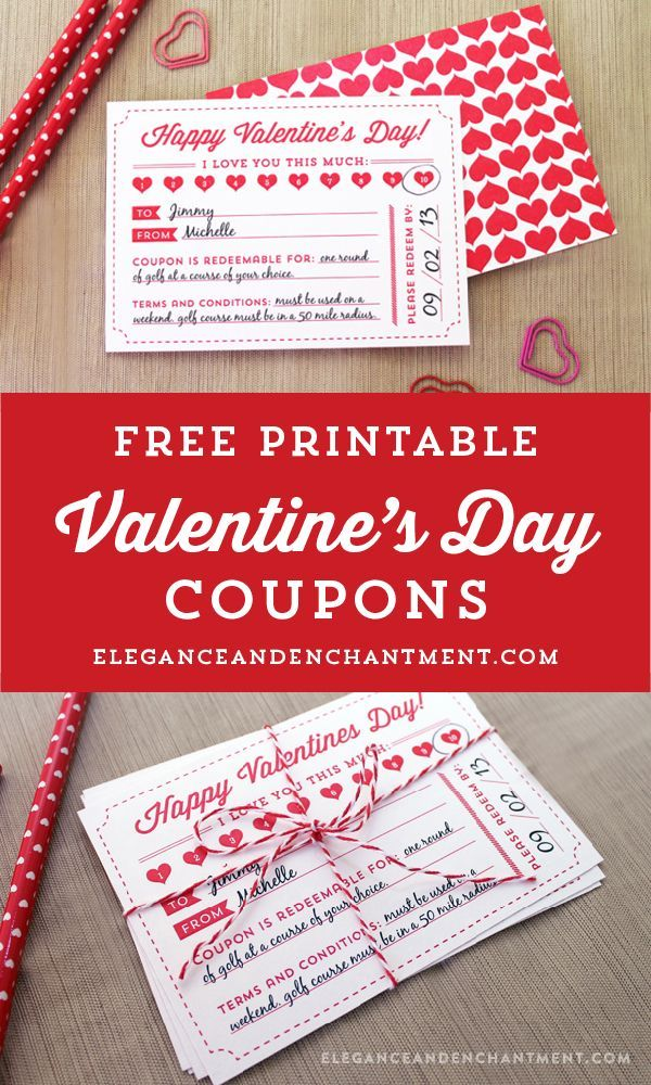 make valentine coupons