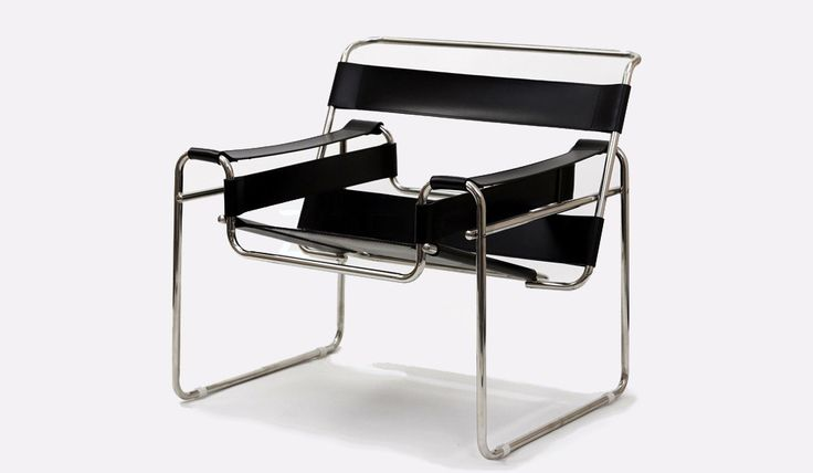Breuer, B3 Wassily Chair - Classic Designer Furniture from Delux Deco UK