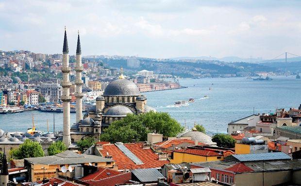 Passeio no Bósforo, Istambul, Turquia