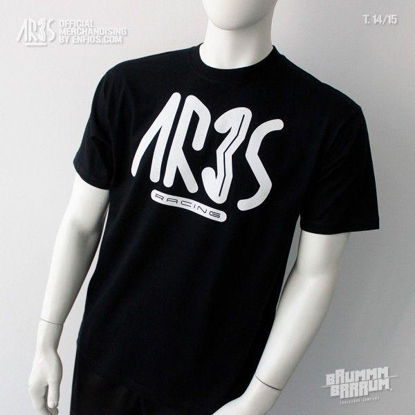 Camiseta Black ARES 14-15 (parte delantera)