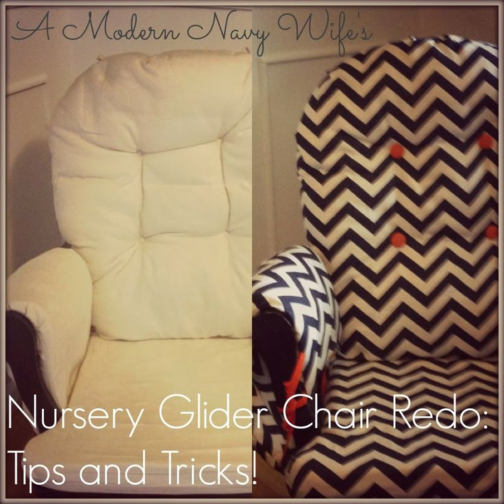 how to recover glider rocking chair cushions oakworks massage best 25+ redo ideas on pinterest | rockers, diy furniture gliders and ...