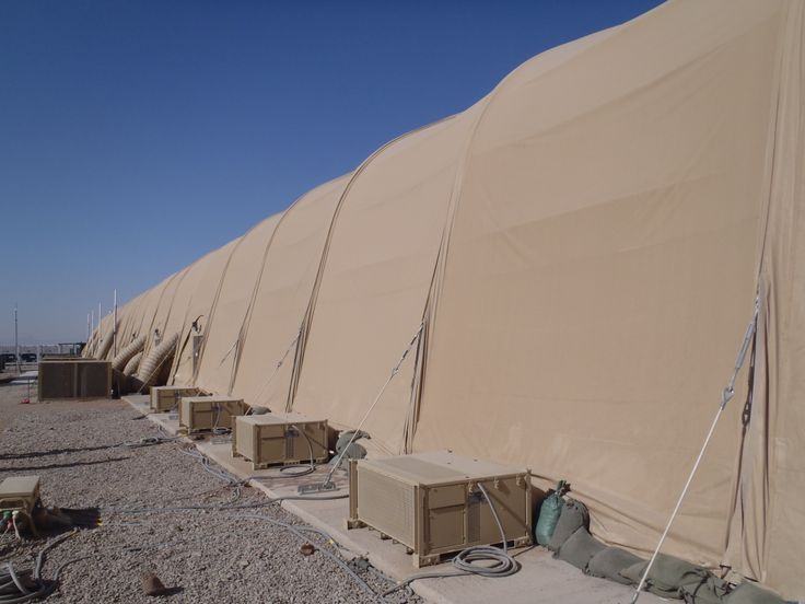 Large Area Maintenance Shelter : Best military structures images on pinterest
