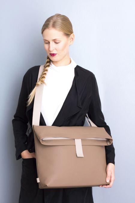 Folding bag/Brown