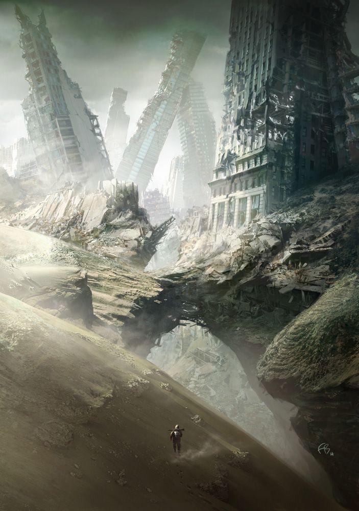 Third rail 1 by François Baranger | Sci-Fi | 2D | CGSociety