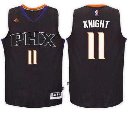 Phoenix Suns #11 Brandon Knight Black Alternate New Swingman Jersey
