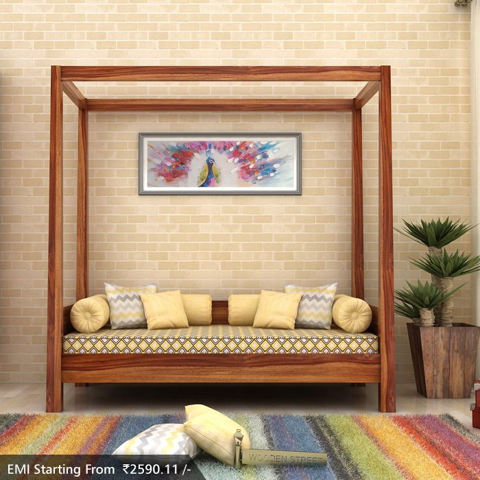 Give Royal Retreat To Your #livingroom With Aesthetic Designs Of Poster # Divans . The