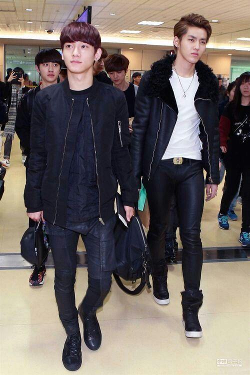 Chen Kris #husband | airport fashion | my ideal bf fashion ...