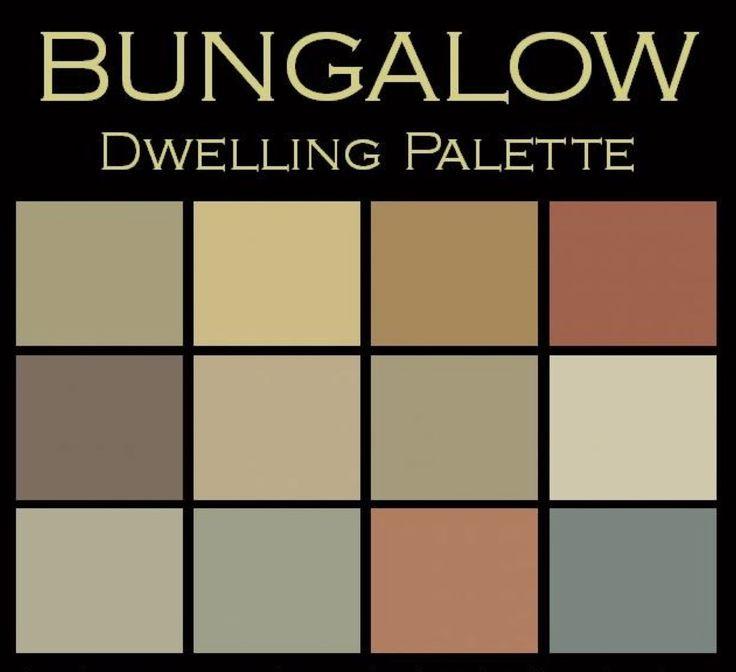 Bungalow Paint Schemes: 10 Best Images About Bungalow Exterior Color Schemes On