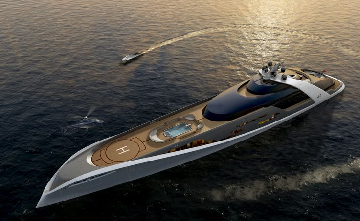 7Cs superyacht - 125 meters - I can't even imagine how much this thing costs to run.