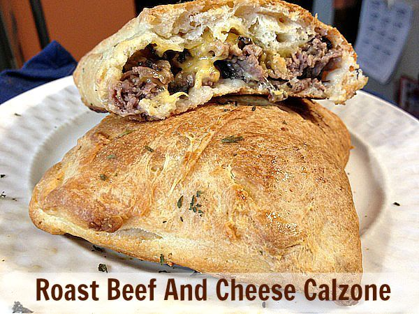 Cheese calzone, Roast beef and Calzone on Pinterest