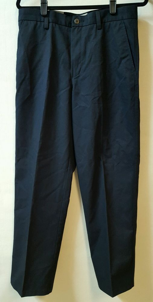St Johns Bay Blue Chino Pants Size 31 X 30 Worry Free Classic Fit 100% Cotton   Clothing, Shoes & Accessories, Men's Clothing, Pants   eBay!
