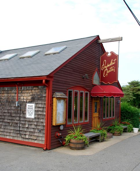 Impudent Oyster located right in the heart of downtown Chatham- Creative seafood with an international influence! #capecod #localfavorites