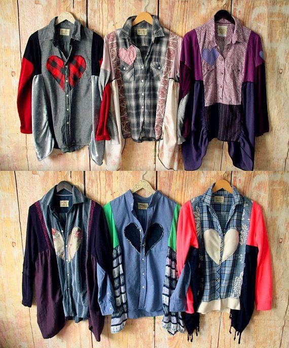 147e4edf6af Set of 6 or 12 Handmade Boutique Shirts - Wholesale Eco- Friendly ...