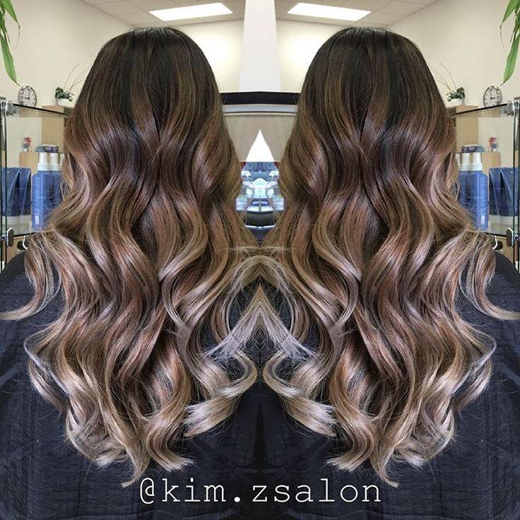 ash brown ombre balayage hair   Hair / Makeup   Pinterest ...