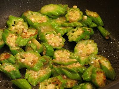 Journey of a Culinary Student: Quick, Easy, and Fantastic Sauteed Okra