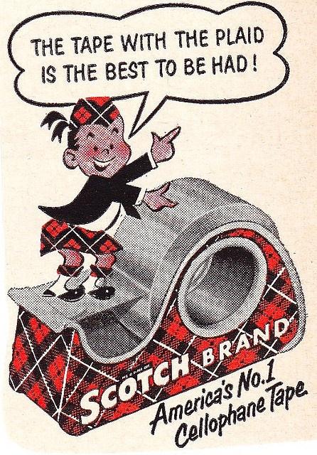 Scotch Tape Mascot - Scotty McTape