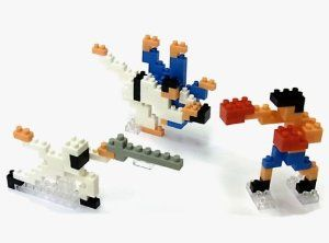 Nanoblock X Ozu Makoto Olympic Fighting Sport Judo Boxing Fencing Nbcb-003 by KAWADA. $18.00. from 12year old. ?jyudo H50×W68×D16(mm) ?boxing H50×W44×D20(mm) ?fencing H35×W80×D12(mm)