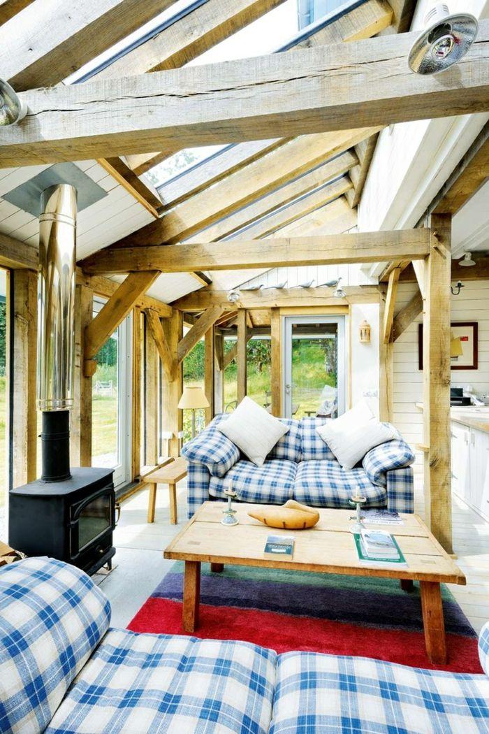 véranda bioclimatique, isolation veranda, favbricant veranda en bois clair