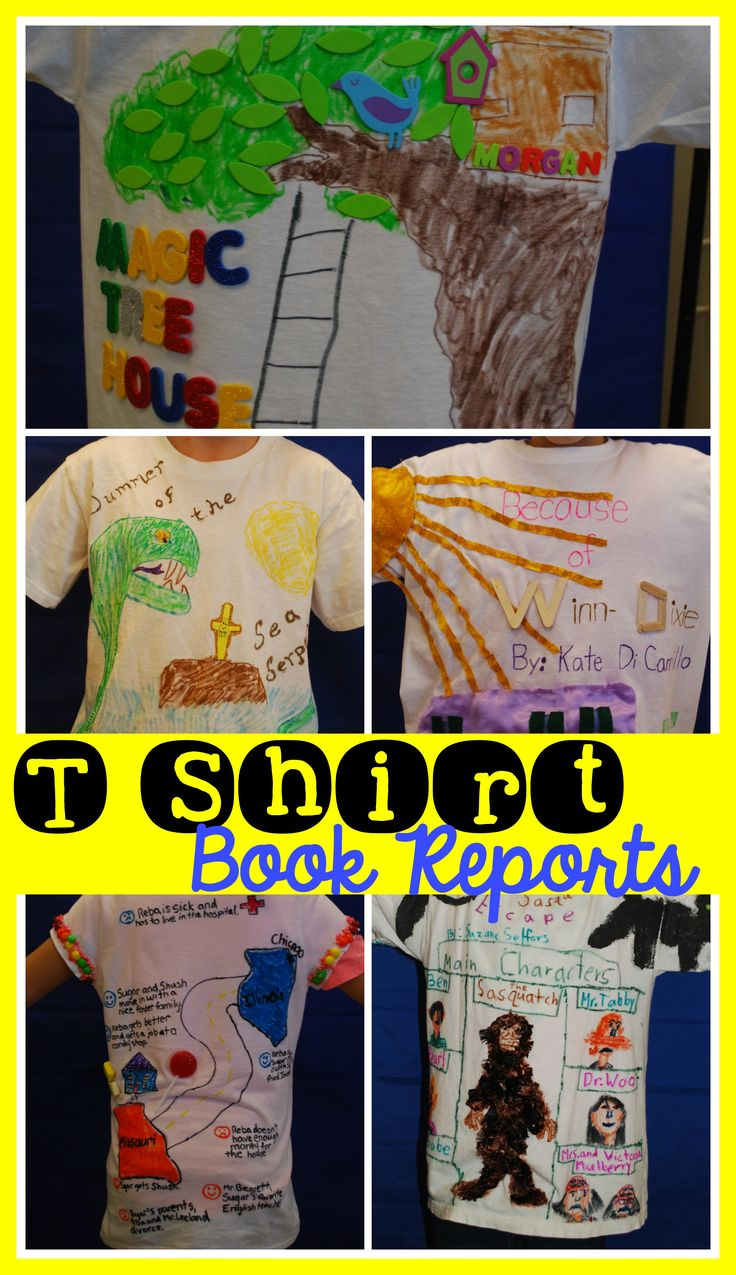 school book report projects Writing book reports can be both fun and captivating in order to write a perfect book report, students should read extensively and understand the book contentsthis gives them a chance to not only discover new ideas but to build their vocabulary and develop their writing skills.